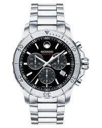Movado Metallic Series 800 Chronograph Watch for men