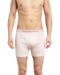 Calvin Klein Multicolor Cotton Boxer Briefs for men