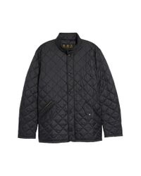 Barbour - Black Flyweight Chelsea Quilted Jacket for Men - Lyst