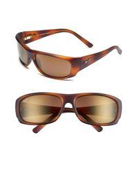 Maui Jim Brown 'ikaika - Polarizedplus2' 64mm Sunglasses for men