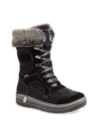 Santana Canada - Black Marta Water-Resistant Insulated Winter Boot - Lyst