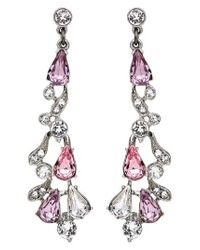 Ben-Amun - Pink Multicolor Round Pear Drop Earrings - Lyst