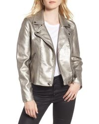 Blank NYC - Metallic Life Changer Moto Jacket - Lyst