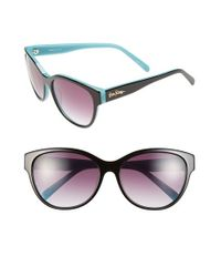 Lilly Pulitzer | Black Lilly Pulitzer 'keene' 57mm Sunglasses | Lyst