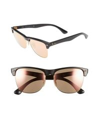 Ray-Ban | Black 'highstreet' 57mm Sunglasses | Lyst