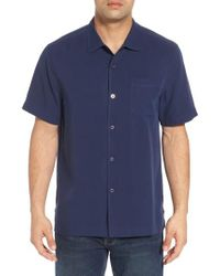Tommy Bahama - Blue Catalina Silk Camp Shirt for Men - Lyst