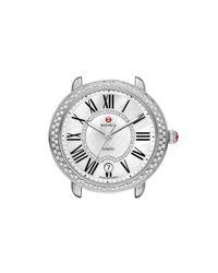 Michele Black Serein 16 Diamond Watch Case