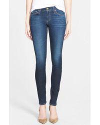 AG Jeans - Blue 'the Legging' Super Skinny Jeans - Lyst