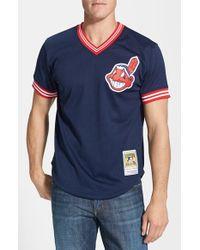 the best attitude c98de d3095 Men's Blue 'joe Carter - Cleveland Indians' Batting Practice Jersey
