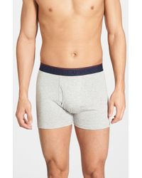 Polo Ralph Lauren | Gray Supreme Comfort 2-pack Boxer Briefs, Grey for Men | Lyst