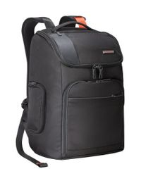 Briggs & Riley - Black 'verb - Advance' Water & Wear Resistant Ballistic Nylon Backpack for Men - Lyst