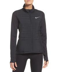 Nike - Black Essentials Running Jacket - Lyst