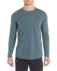 Under Armour - Gray Threadborne Performance T-shirt for Men - Lyst