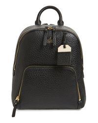 Kate Spade Black Carter Street - Caden Leather Backpack