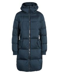 Bernardo - Blue Quilted Down Jacket - Lyst