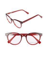 Derek Lam - Red 50mm Optical Glasses - Lyst