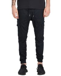 Zanerobe - Black Sureshot Cargo Jogger Pants for Men - Lyst