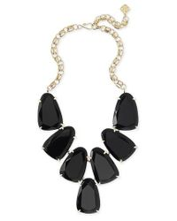 Kendra Scott - Black 'harlow' Necklace - Lyst