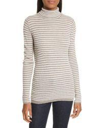 Soft Joie   Multicolor Zelene Stripe Cowl Neck Sweater   Lyst