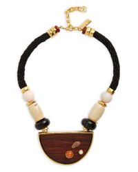Lizzie Fortunato - Multicolor Noble Surfer Pendant Necklace - Lyst