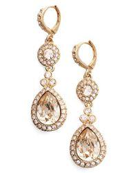 Givenchy - Metallic Wingate Drop Earrings - Lyst