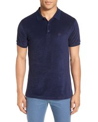 Vilebrequin Blue Terry Polo for men