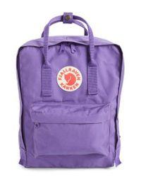 Fjallraven | 'kanken' Water Resistant Backpack - Purple | Lyst