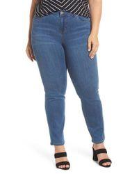 Liverpool Jeans Company Blue Sadie Straight Leg Jeans