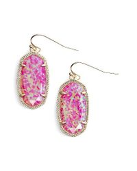 Kendra Scott | Multicolor Dani Stone Drop Earrings | Lyst