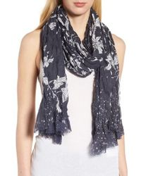 Treasure & Bond - Blue Print Crinkle Wrap - Lyst