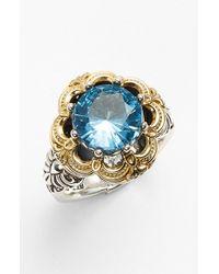Konstantino | Metallic 'hermione' Semiprecious Stone Ring | Lyst