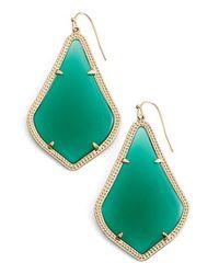 Kendra Scott | Metallic 'alexandra' Large Drop Earrings | Lyst