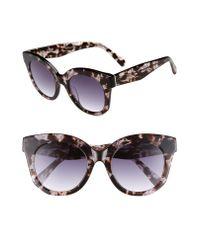 Chelsea28 Gray Gillian 52mm Sunglasses
