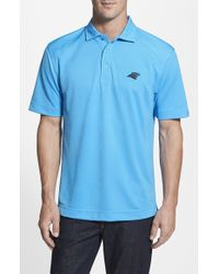 Cutter & Buck | Blue 'carolina Panthers - Genre' Drytec Moisture Wicking Polo for Men | Lyst