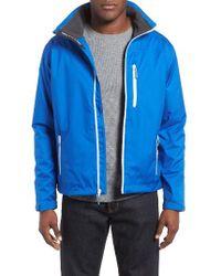 Helly Hansen | Blue 'crew' Waterproof & Windproof Jacket for Men | Lyst