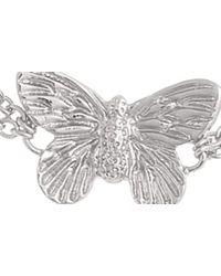 Olivia Burton Metallic 3d Butterfly Bracelet