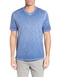 Tommy Bahama - Blue Suncoast Shores V-neck T-shirt for Men - Lyst