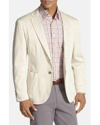 Robert Talbott Natural 'fabiano California' Classic Fit Italian Cotton Sport Coat for men