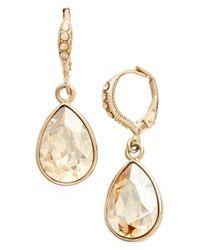 Givenchy | Metallic Small Teardrop Earrings | Lyst