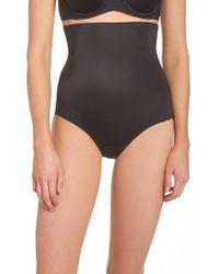 Tc Fine Intimates - Black Cooling High Waist Shaping Briefs - Lyst