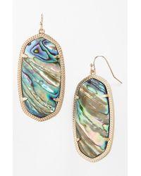 Kendra Scott | Multicolor 'danielle - Large' Oval Statement Earrings | Lyst