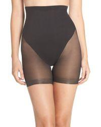 Tc Fine Intimates - Black High Waist Shaping Shorts - Lyst