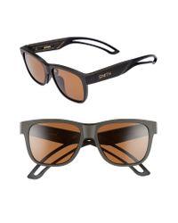 Smith Brown Lowdown Focus 56mm Chromapoptm Sunglasses