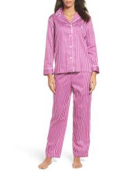 Lauren by Ralph Lauren - Pink Notch Collar Pajamas - Lyst