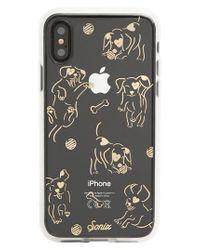Sonix Hush Puppy Iphone X Case - Metallic