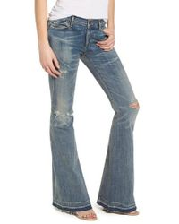 Citizens of Humanity - Blue Charlie Flare Jeans - Lyst