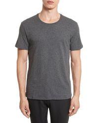 ATM Gray Cotton Jersey T-shirt for men