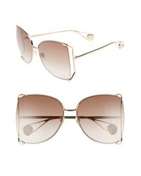Gucci - 63mm Gradient OverGold/ Gradient Brown - Lyst