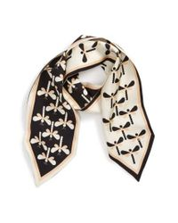 Tory Burch - Black Dragonfly Silk Necktie - Lyst