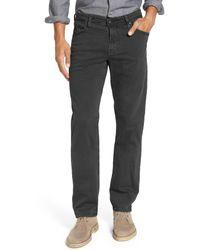 AG Jeans Gray Graduate Sud Slim Straight Leg Pants for men
